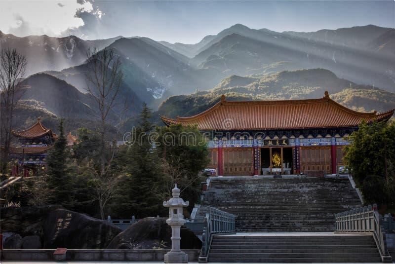 Templo de tres pagodas foto de archivo libre de regalías