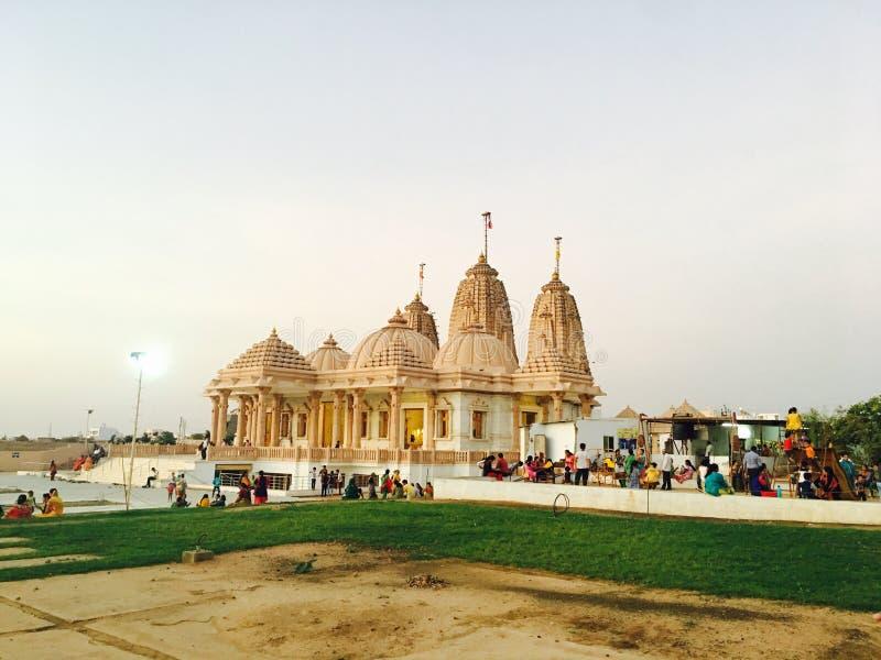 Templo de Trimurti fotografia de stock