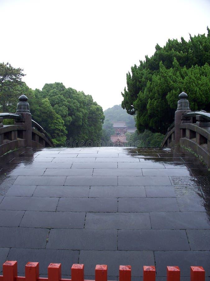 Templo de Tsurugaoka Hachimangu fotos de archivo