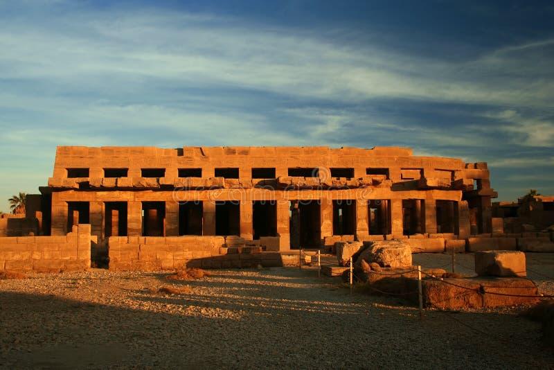 Templo de Tuthmosis III foto de stock