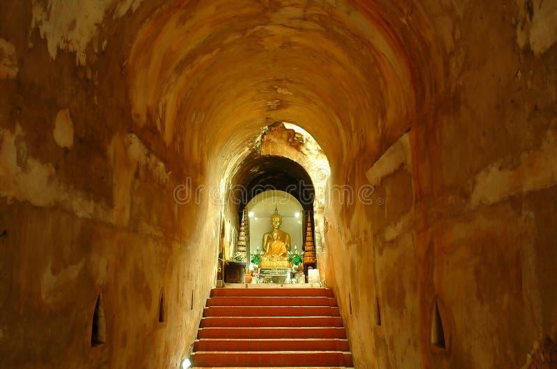 Templo de U-mong imagem de stock
