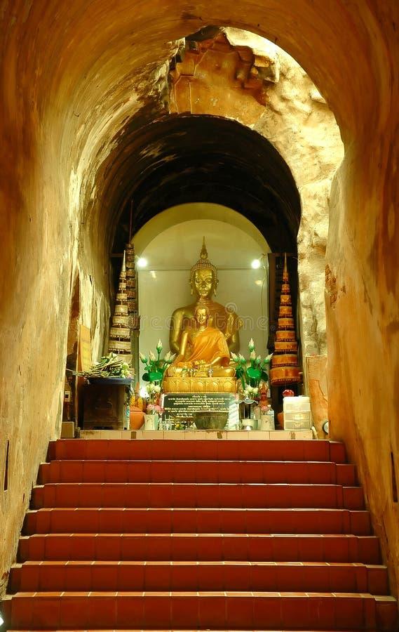 Templo de U-mong imagens de stock