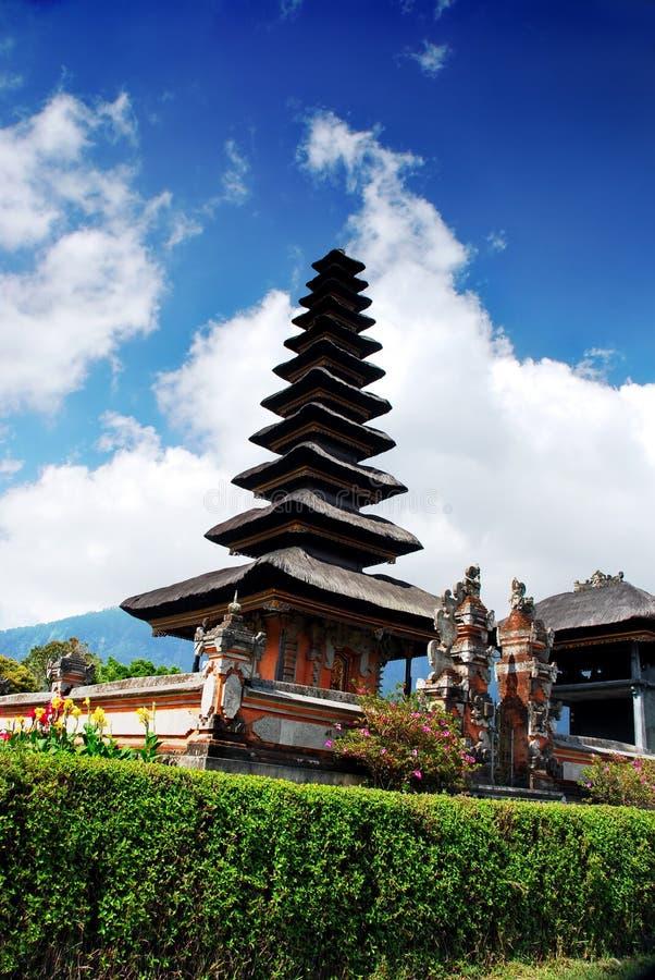 Templo de Ulun Danu fotos de archivo