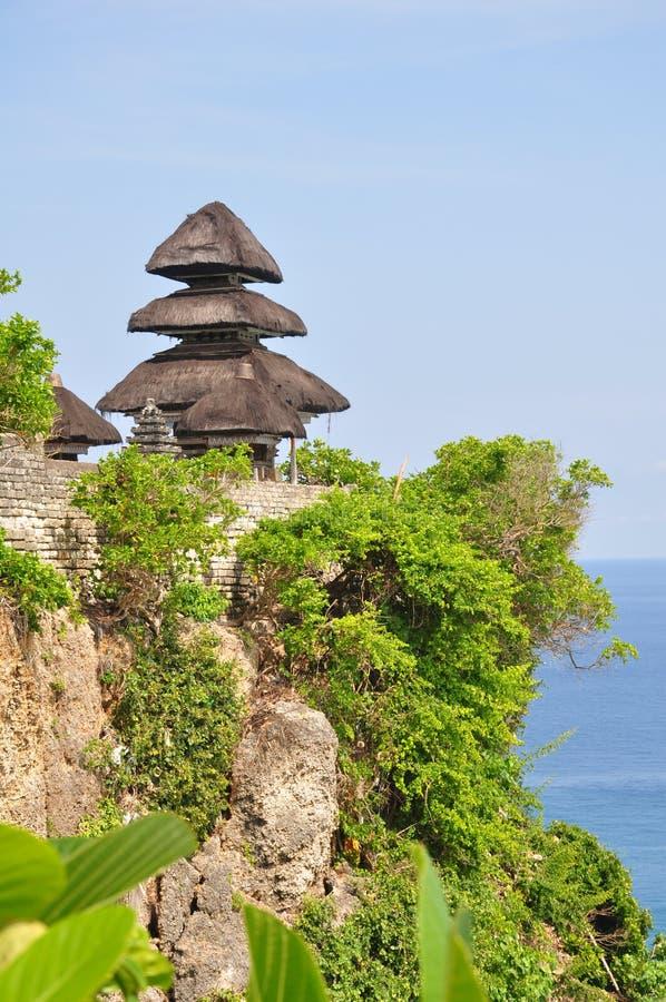 Templo de Uluwatu fotos de archivo