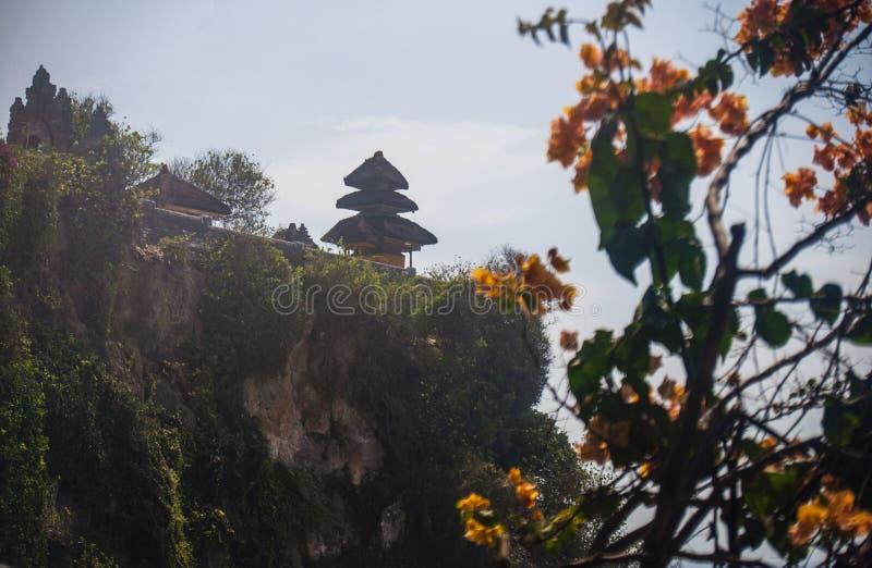 Templo de Uluwatu, Bali indonésia foto de stock royalty free