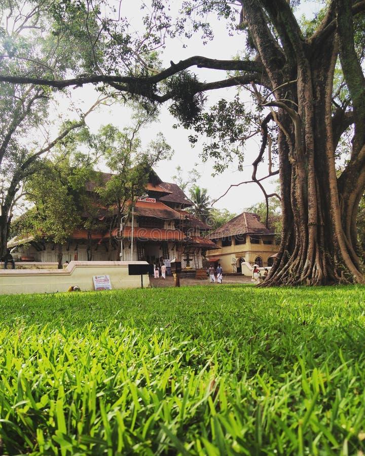 Templo de Vadakkunnathan fotos de archivo