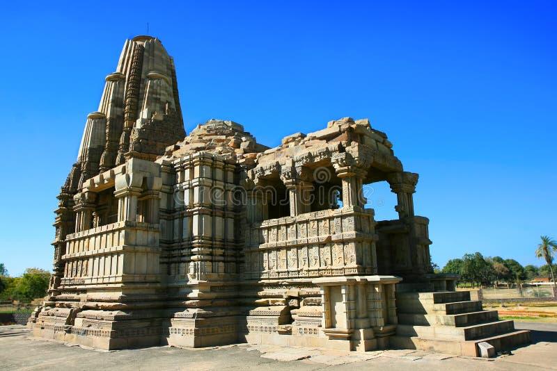 Templo de Vamana, Khajuraho, Madhya Pradesh, India fotos de stock royalty free