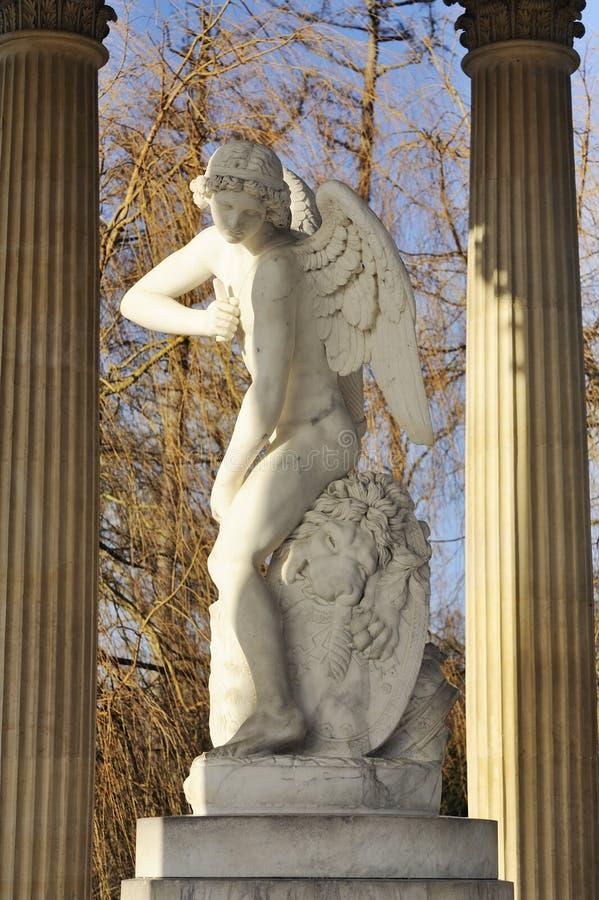 Templo de Versalles del amor foto de archivo