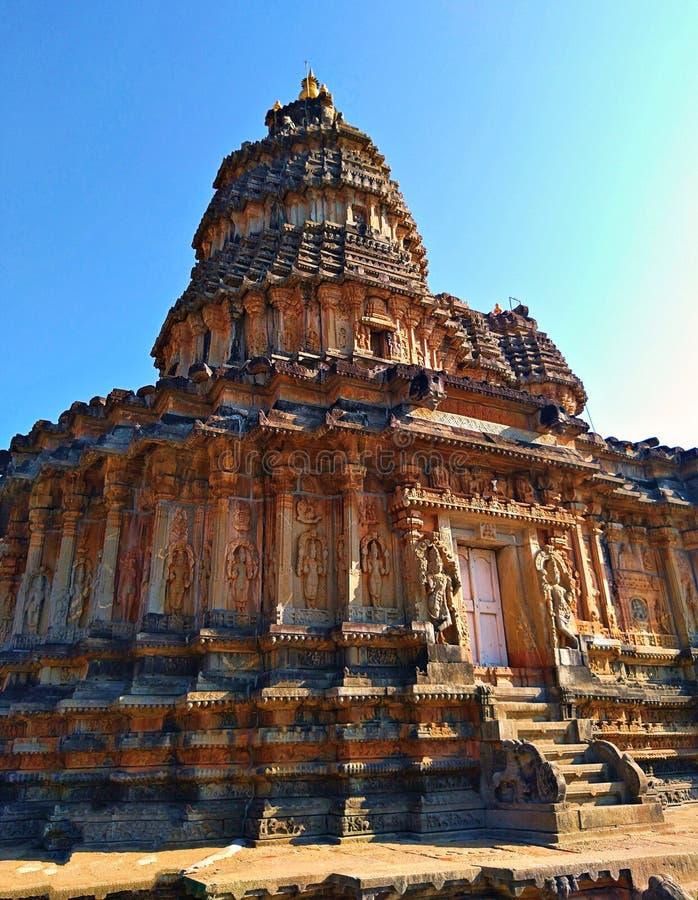 Templo de Vidyashankara de Sringeri imagem de stock