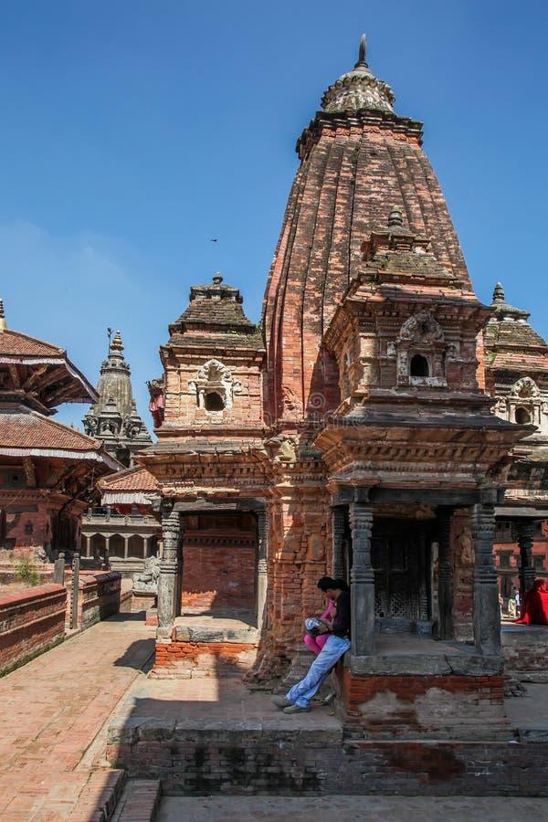 Templo de Vishnu imagem de stock