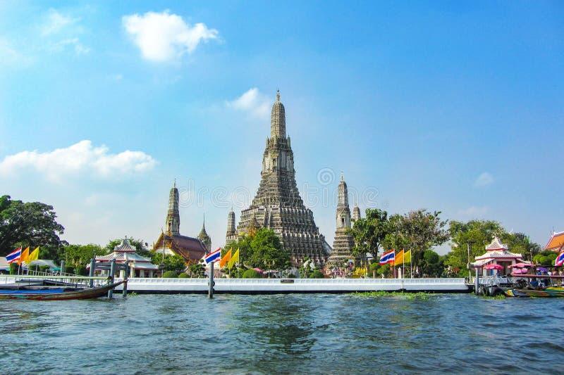 Templo de Wat Arun en Bangkok Tailandia fotos de archivo libres de regalías