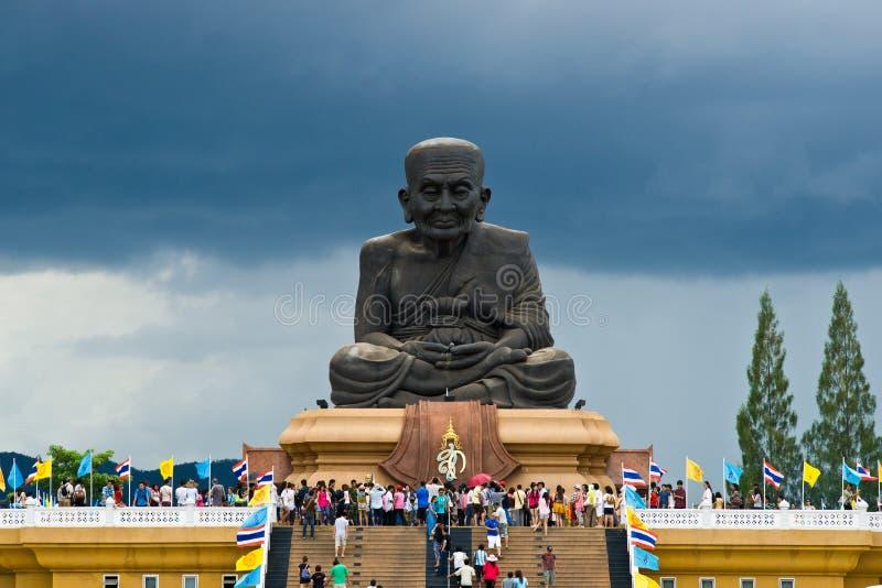 Templo de Wat Huay Mongkol fotografia de stock royalty free