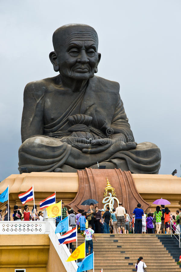 Templo de Wat Huay Mongkol fotos de stock royalty free