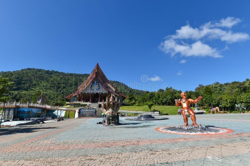 Templo de Wat Pa Huay Lad fotografia de stock