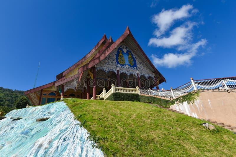 Templo de Wat Pa Huay Lad foto de stock