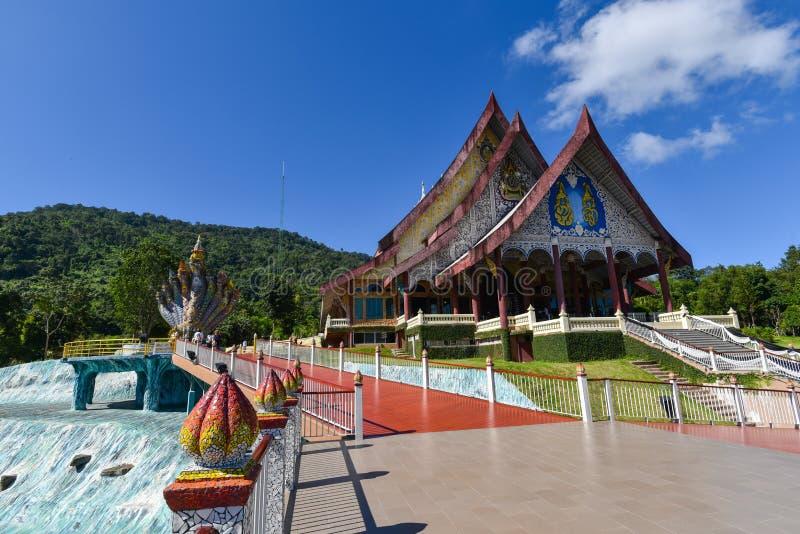 Templo de Wat Pa Huay Lad foto de stock royalty free