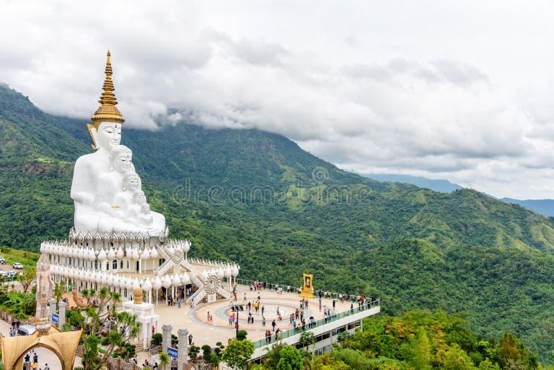 Templo de Wat Phra That Pha Sorn Kaew imagem de stock royalty free