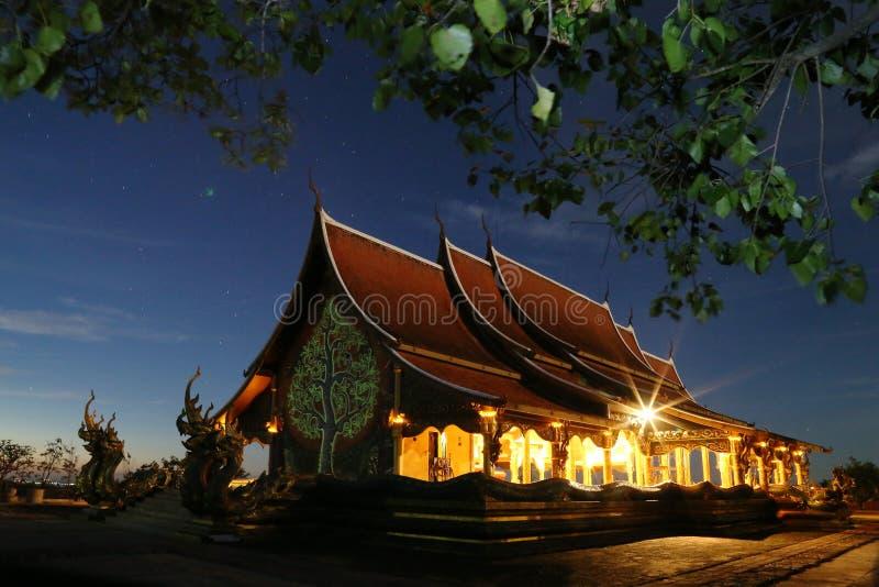 Templo de Wat Phu Praw imagen de archivo