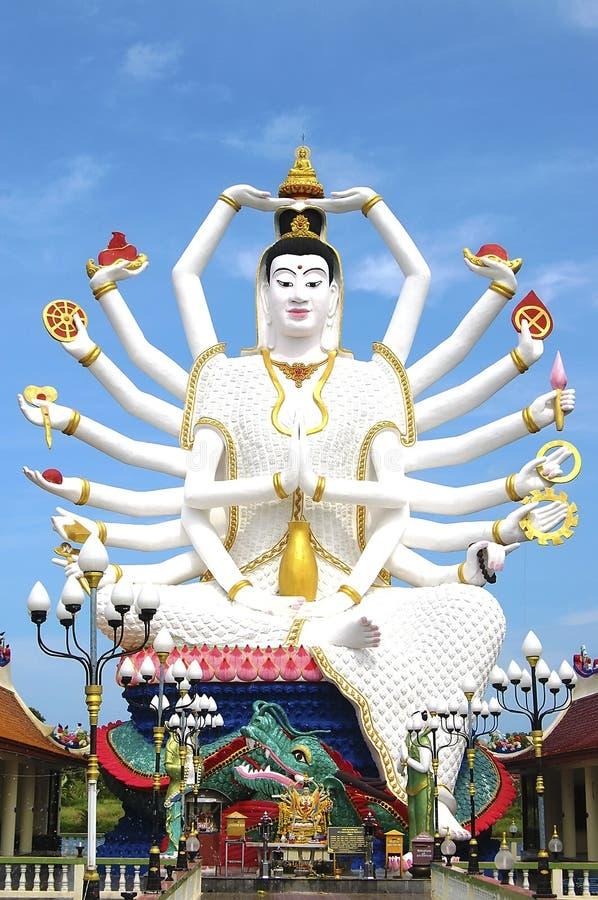 Templo de Wat Plai Laem, Samui, Tailandia foto de archivo libre de regalías