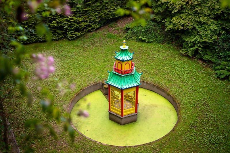 Templo de Waterford del jardín del congreve del soporte foto de archivo libre de regalías