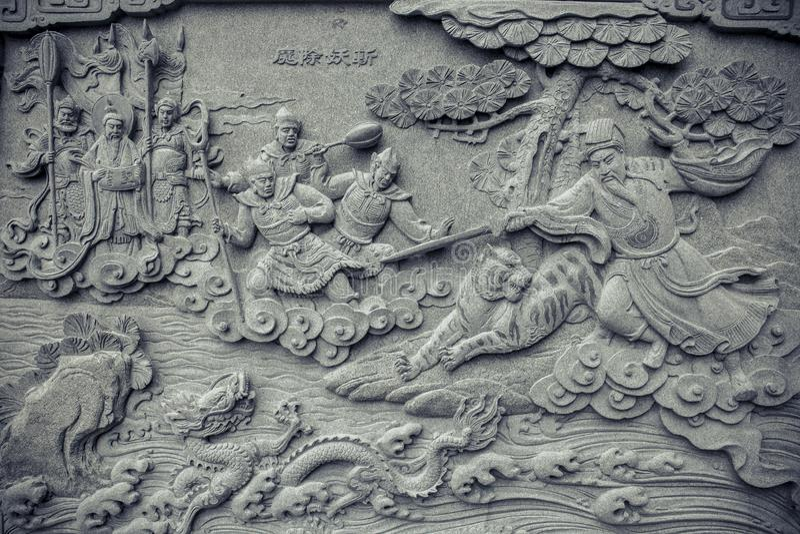 Templo de Wenwu imágenes de archivo libres de regalías