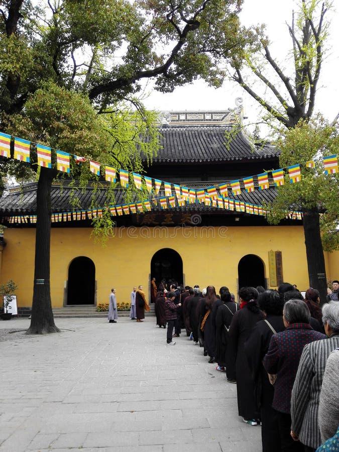 Templo de Xiyuan imagem de stock royalty free