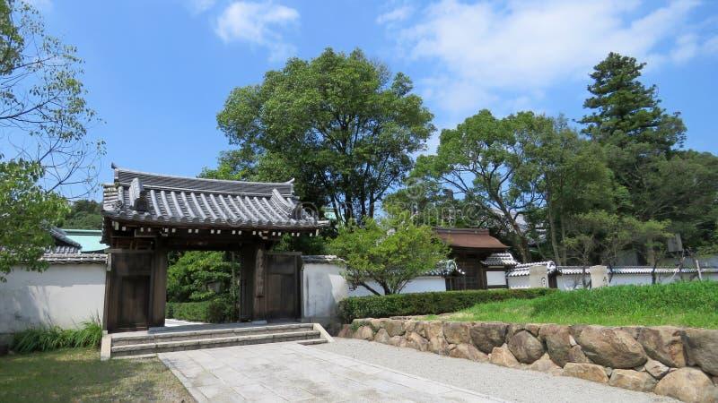 Templo de Yashima en la isla de Shikoku en Japón imágenes de archivo libres de regalías