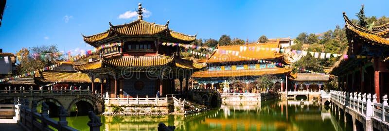 Templo de Yuantong imagem de stock royalty free