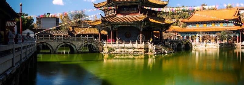 Templo de Yuantong fotos de stock royalty free