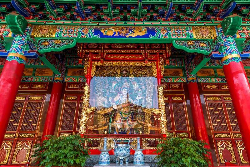 Templo de Yuantong Kunming de Yunnan imagen de archivo