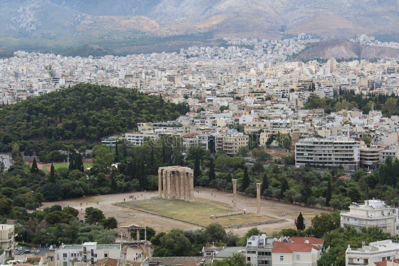 Templo de Zeus imagens de stock