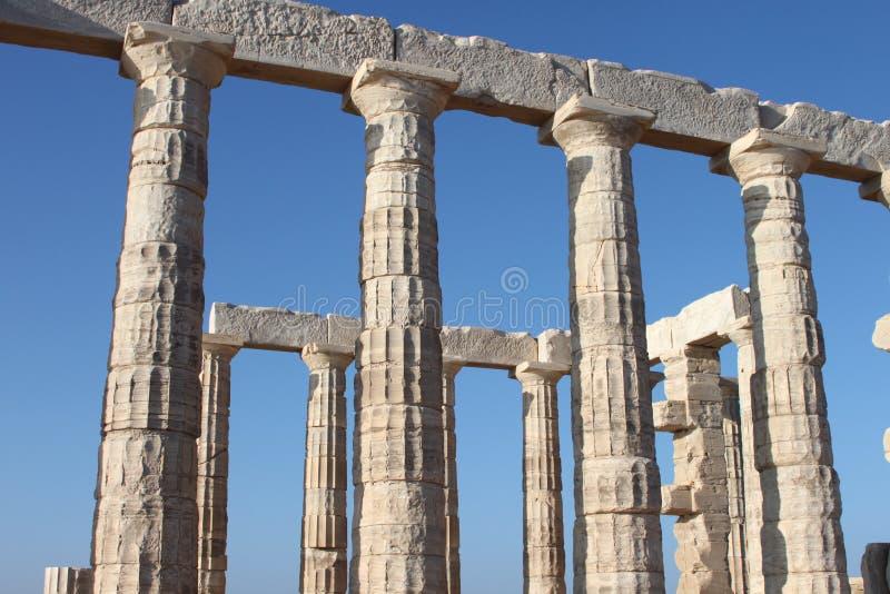 Templo de Zeus en Atenas Grecia imágenes de archivo libres de regalías