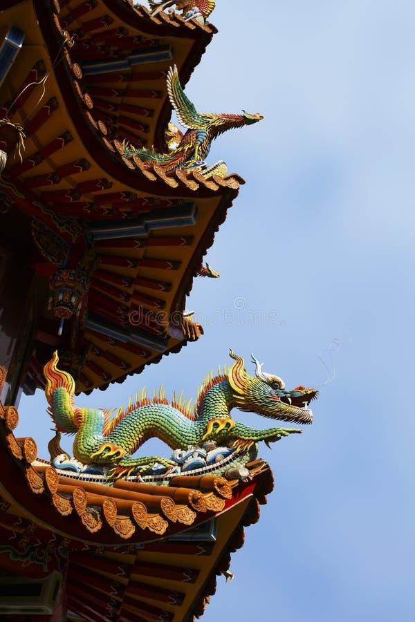 Templo de Zizhu o templo de bambú púrpura Gaoxiong Taiwán, ROC imagen de archivo