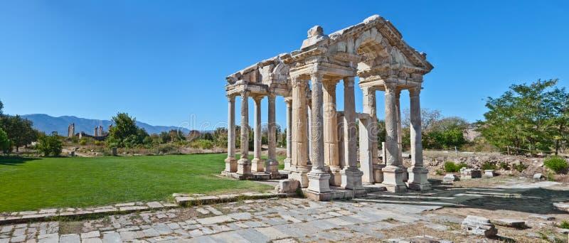 Templo del Aphrodite imagen de archivo