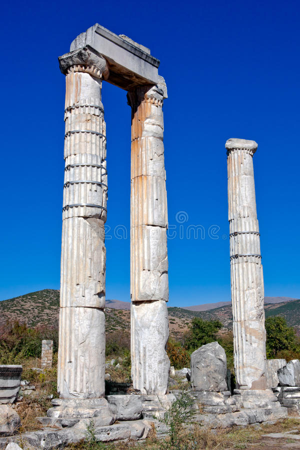 Templo del Aphrodite foto de archivo