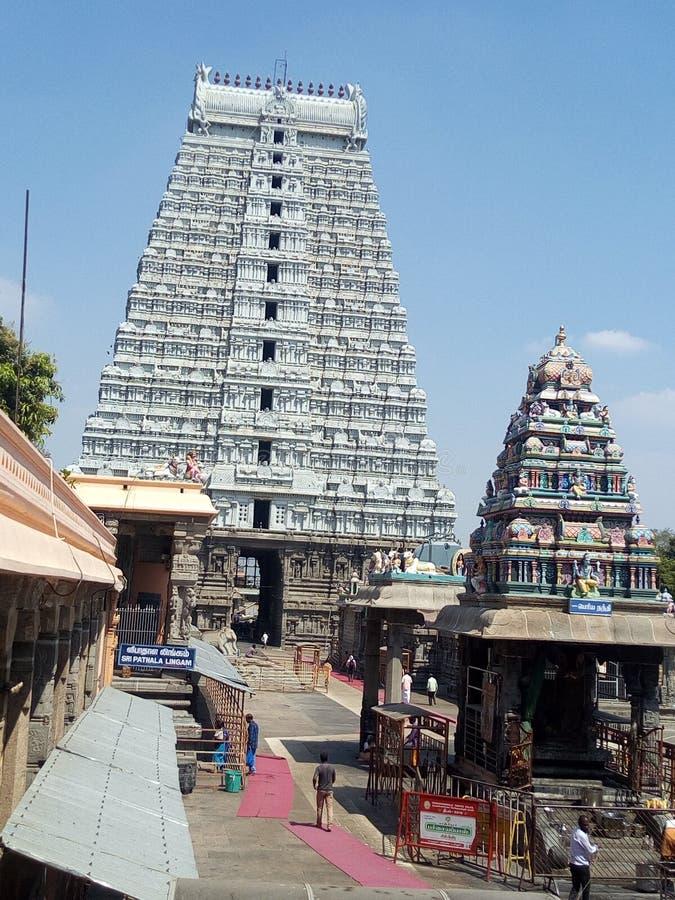 Templo del artiture antiguo viejo indio del sur foto de archivo