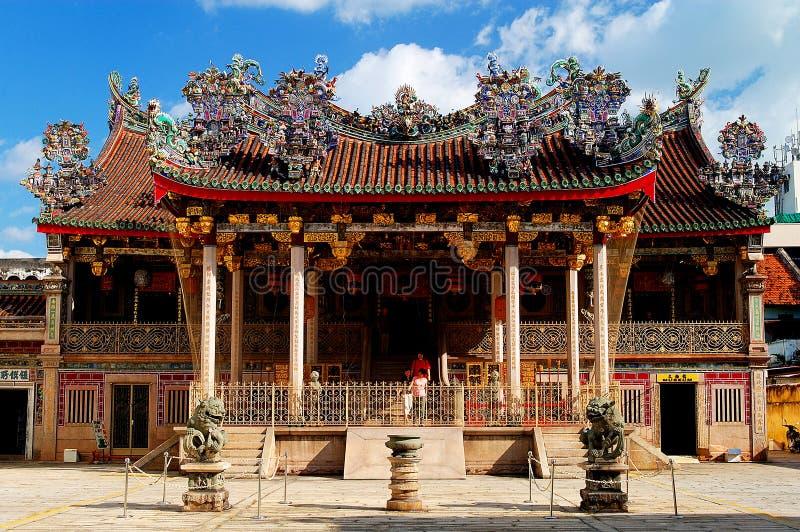 Templo del chino de Khoo Kongsi fotos de archivo