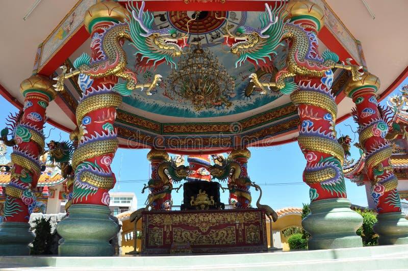 Templo del chino de Najasaataichue imagen de archivo libre de regalías