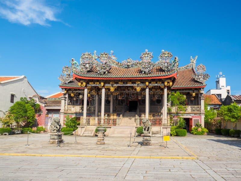 Templo del chino tradicional en Penang, Malasia imágenes de archivo libres de regalías