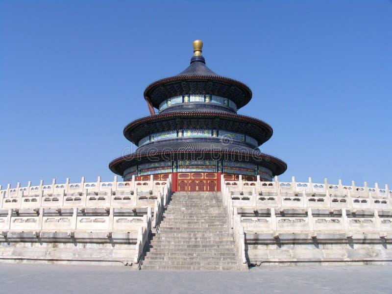 Templo del cielo fotografía de archivo