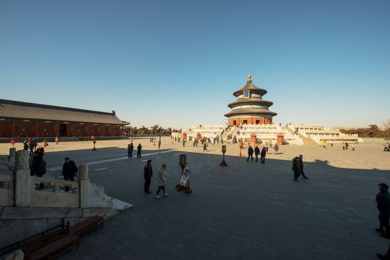 Templo del cielo foto de archivo libre de regalías