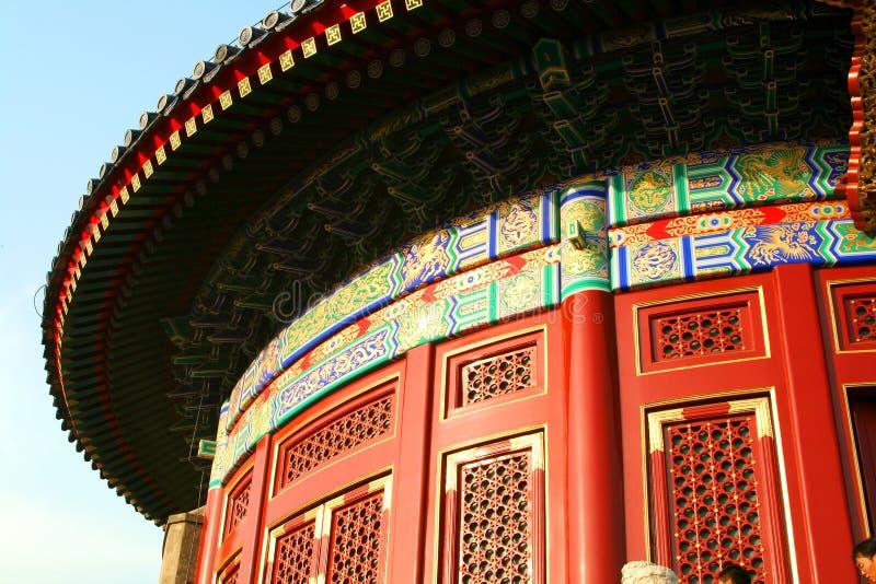 Templo del cielo en Pekín fotos de archivo libres de regalías