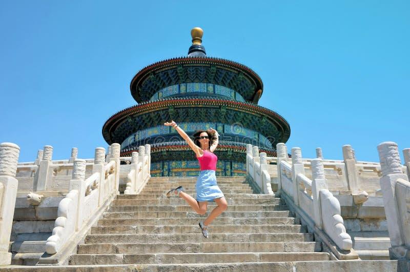 Templo del cielo en Pekín, China foto de archivo libre de regalías