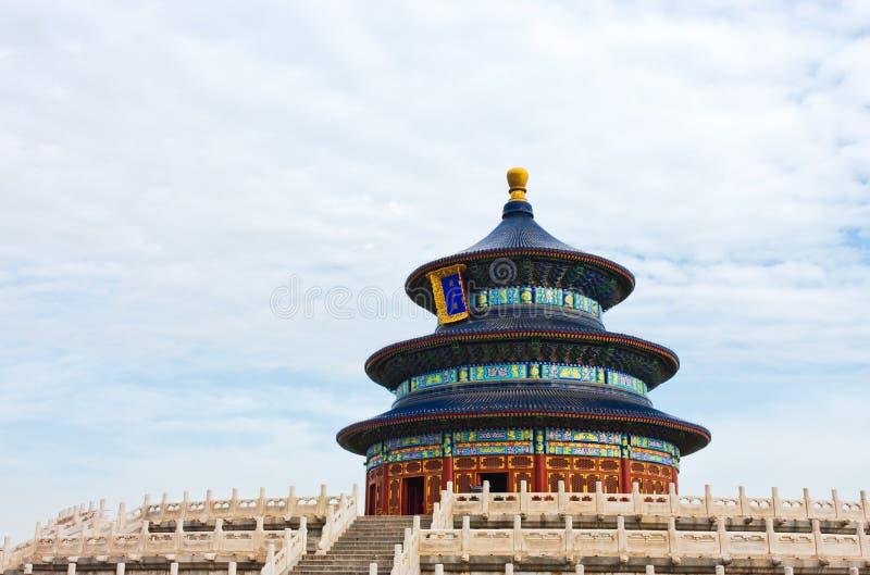 Templo del cielo, Pekín foto de archivo libre de regalías