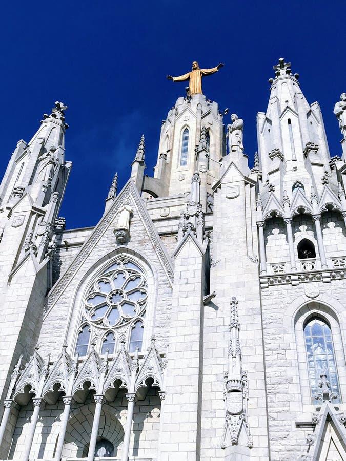 Templo del corazón sagrado de Jesús imagen de archivo libre de regalías