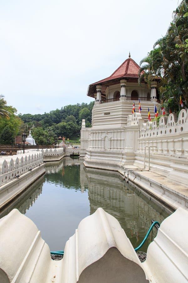 Templo del diente y Royal Palace - el Kandy, Sri Lanka fotografía de archivo libre de regalías