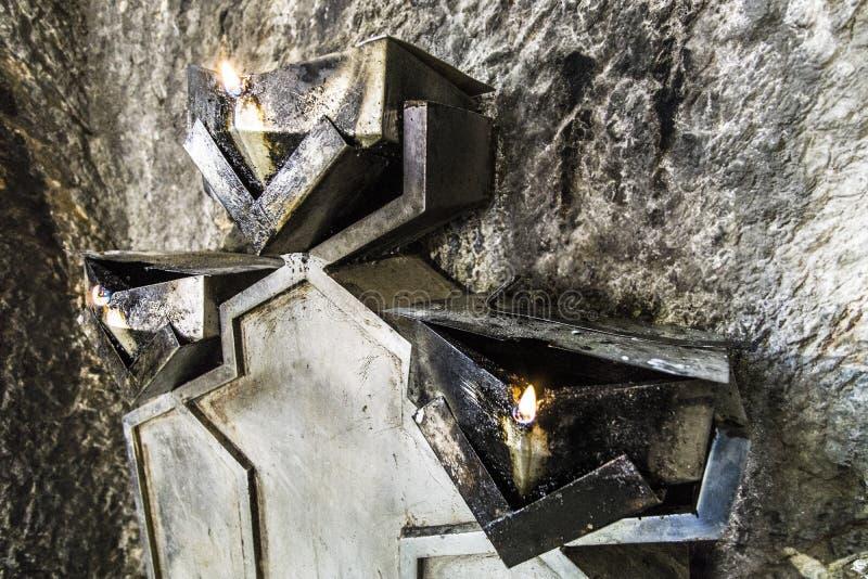 Templo del fuego fotografía de archivo