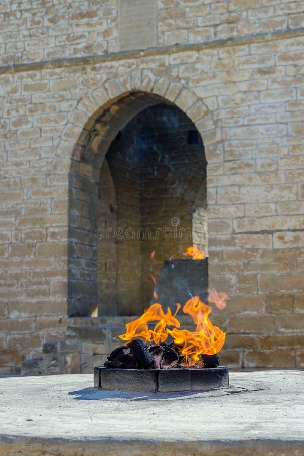 Templo del fuego, Baku, Azerbaijan imágenes de archivo libres de regalías