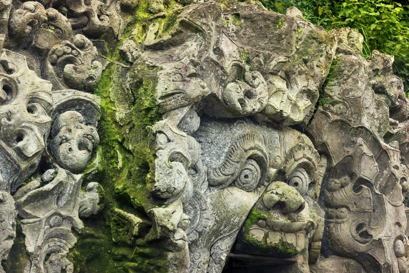 Download Templo del gajah de Goa imagen de archivo. Imagen de indonesia - 100530391
