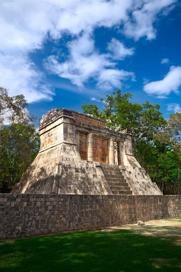 Templo del hombre barbudo, México imagen de archivo libre de regalías